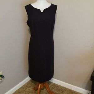 Style & Co black sleeveless dress in size 18w